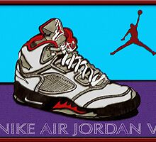 """AIR JORDANS V"" by S DOT SLAUGHTER"