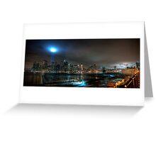 Brooklyn 2009 911 Memorial Lights Greeting Card