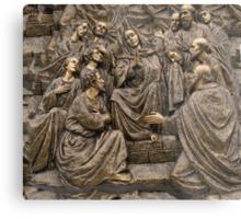 Mary Praying Metal Print