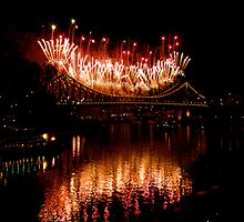 River Fire QLD 150yrs by TraceJ