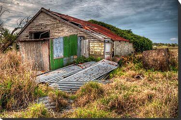 The Study of an old farm shed 2 - Experienced in HDR by Jason Ruth