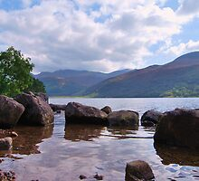 Ennerdale Water,The Side and Ennerdale Fell. English Lakes. by Phil Mitchell