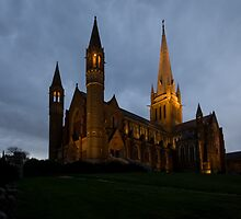 Bendigo Cathedral by rjpmcmahon