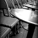 Empty Café II by Caroline Fournier