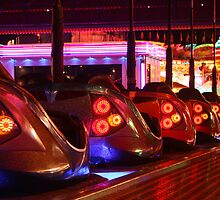 Fairground dodgems by Annabel  Smith