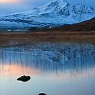 Blaven in the Gloaming, Loch Cill Chriosd, Isle of Skye. Scotland. by photosecosse /barbara jones