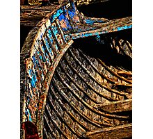 Ribs of the Boat. Photographic Print