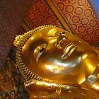Reclining Buddha by Gene  Tewksbury