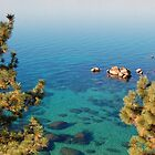 Lake Tahoe  by tom j deters