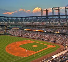 Coors Field by Gene  Tewksbury
