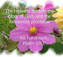 The heavens declare the glory of God by Nanagahma