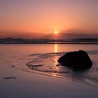 Woolgoolga Beach Sunrise by Ann  Van Breemen