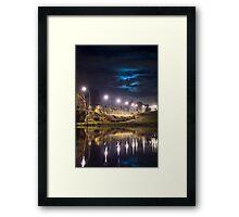 Wairoa River at night 9 Framed Print