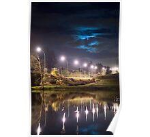 Wairoa River at night 9 Poster