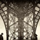 Reflections in Eiffel by Victor Pugatschew