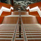 MXC Interior (14) - Stairs Descending by Ian Ker