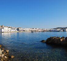 Chora of Mykonos by zanskou