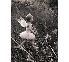 """Angel Ready For Flight"" - A Tribute To Breast Cancer Awareness Photographic Print"