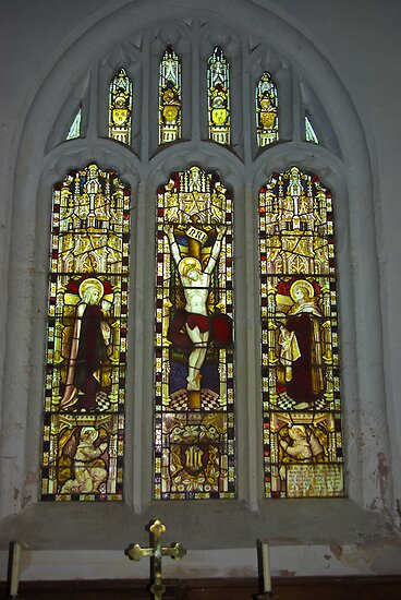 Window #2 St Peter's Church by Trevor Kersley