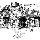 The Cottage at Culloden. by hyde66art