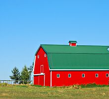 Red Barn by Ron Kube