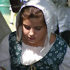 A Pretty Colonial Girl by Margie Avellino