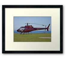 EI-FAC Aerospatiale AS350B1 Ecureuil Helicopter Framed Print