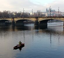 Fisher and Vltava by Nedim Bosnic