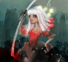 Lolly bo peep and her bleeting phantom sheep by Erica Rosario