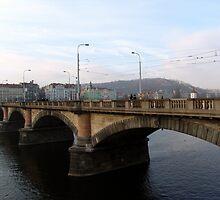 Bridge Over Vltava by Nedim Bosnic
