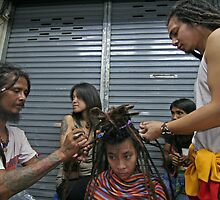 street dreads by Colinizing  Photography with Colin Boyd Shafer