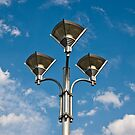 Triple Street Lamp by Nickolay Stanev