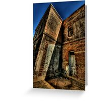 Misery and Shadows - Beechworth Lunatic Asylum - The HDR Experience Greeting Card