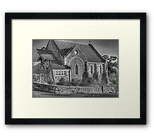 St Paul's Church, Bridgetown, WA Framed Print