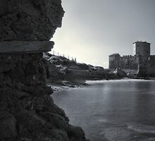 Medieval castle by the sea, Astura, Italy by Marco Scataglini