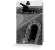 An American Fort ~ Part Four Greeting Card