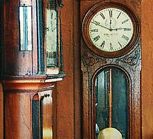Somebody's Grandfather's Clocks by RC deWinter