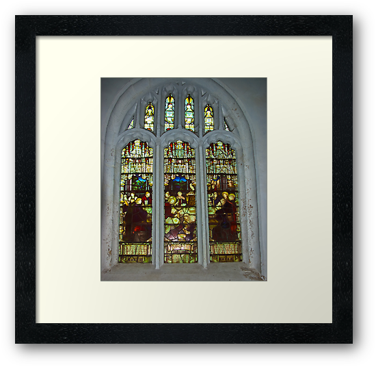 Window #4 St Peter's Church by Trevor Kersley
