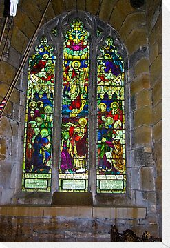 Window #5 St Peter's Church by Trevor Kersley