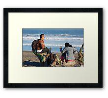 Sharing Moments Framed Print