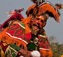 Deer Dance Performer by Karel Kuran