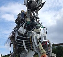 Rrecycling Man!  Eden Project, Cornwall. by greenstone