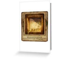 2010 Foxfires Calendar - November Greeting Card