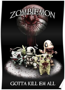Zombiemon: Gotta Kill em All by RPGesus