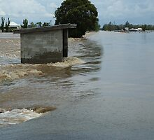 Richmond River Floods between Casino and Lismore by Michael Bath