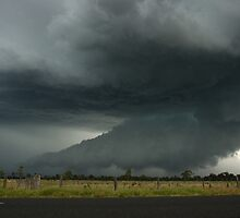Severe Hailstorm near Lismore by Michael Bath