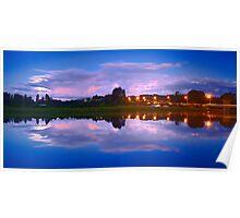 Wairoa River at night 13 Poster