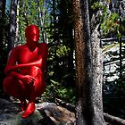 Red Forest Zentai by AnonymousArt