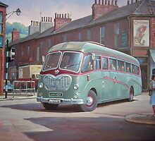 Bedford SB Duple by Mike Jeffries