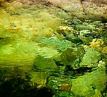 Water Abstract by Barbara Ingersoll